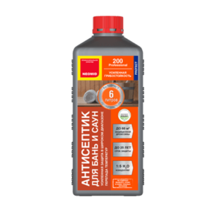Неомид 200 антисептическая пропитка для бань и саун концентрат