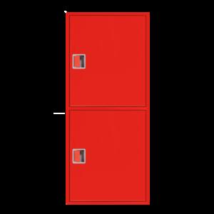 Шкаф пожарный ШПК 320-21 НЗК навесной, закрытый, красный