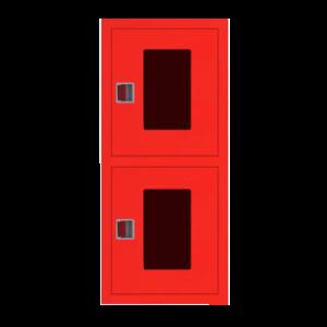 Шкаф пожарный ШПК 320 ВОК встроенный, открытый, красный