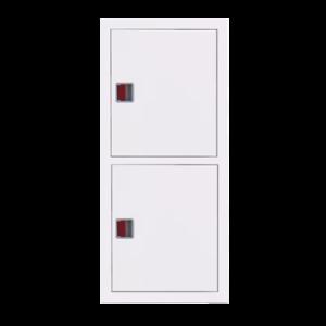 Шкаф пожарный ШПК 320 ВЗБ встроенный, закрытый, белый