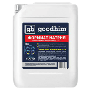 Противоморозная добавка GOODHIM (Гудхим) формиат натрия 25%