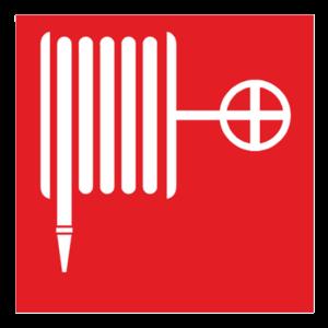 Знак - Пожарный кран F02