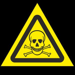Знак - Опасно! Ядовитые вещества W03