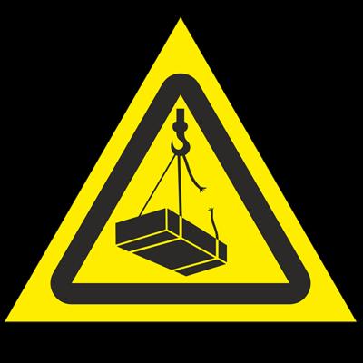 Знак - Опасно! Возможно падение груза W06